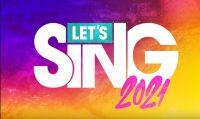 Let's Sing 2021: annunciata la tracklist e la nuova modalità Legend