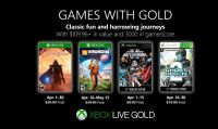 Svelata la line-up di aprile dei Games with Gold