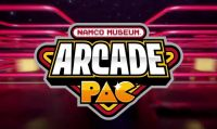Namco Museum Arcade Pac è disponibile per Nintendo Switch