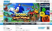 Sega annuncia la line up per il Tokyo Game Show 2013
