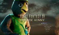 Square Enix trolla i fan di FF XV con l'annuncio di un DLC dedicato a Kenny, la mascotte del gioco