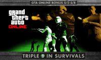 GTA Online - GTA$ tripli in tutte le missioni sopravvivenza fino all'8 maggio