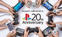 Ventesimo anniversario PlayStation