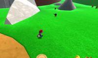 Il primo livello di Super Mario 64 ricreato con Unity