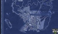 La mappa di GTA V
