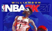 NBA 2K21 - Zion Williamson è l'atleta di copertina della versione next-gen