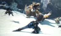 Monster Hunter: World - Un filmato mostra la boss fight del Tigrex di Iceborne