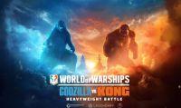 World of Warships accoglie Godzilla e King Kong