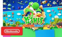 Trailer e data di lancio per Yoshi's Crafted World