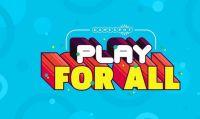 Annunciato l'evento Play for All