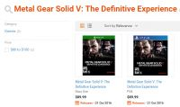 In arrivo Metal Gear Solid V: The Definitive Experience?