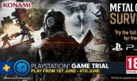 Metal Gear Survive è gratis per tutti gli abbonati PS Plus fino al 5 giugno