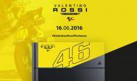 Sony Italia 'dedica' una PS4 a Valentino Rossi