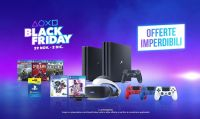 Tante promozioni targate PlayStation, in occasione del Black Friday e del Cyber Monday