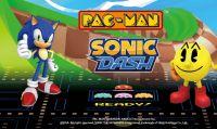 Pac-Man e Sonic per la prima volta assieme su iOS e Android