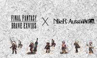 2B, 9S e compagni arrivano ''pixellosi'' su Final Fantasy Brave Exvius