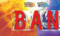 Pokémon Sole e Luna – Ban permanente per chi possiede copie illegali