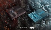 Microsoft presenta le console Xbox One S All-Digital Edition a tema Game of Thrones
