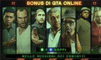 GTA Online - Ricompense doppie in tutte le missioni ricevute dai contatti e nel colpo conclusivo Rischio Apocalisse