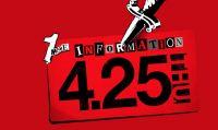 Atlus apre il sito teaser per Persona 5 S: Nuove informazioni previste per il 25 aprile