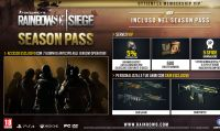 Svelato il Season Pass di Rainbow Six: Siege