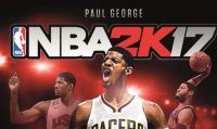 Paul George sarà il giocatore di copertina di NBA 2K17