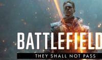 Battlefield 1 - Gratuito su tutte le piattaforme il DLC They Shall Not Pass