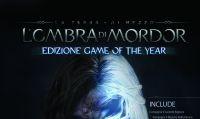 Annunciata la GOTY di 'La Terra di Mezzo: L'Ombra di Mordor'