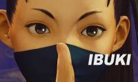 La ninja Ibuki è un nuovo personaggio di Street Fighter V