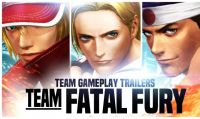The Kings of Fighter XIV - Un trailer dedicato al team Fatal Fury