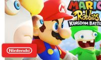 Mario + Rabbids: Kingdom Battle è ora disponibile per Nintendo Switch