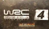 WRC 4: nuovo trailer dedicato alle condiziooni di luce e atmosferiche