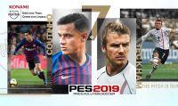 Konami lancia la versione mobile di PES 2019 potenziata dall'Unreal Engine 4!
