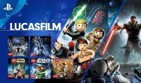 La libreria di PlayStation Now si espande con nuovi titoli di LucasFilm