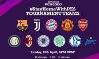 PES 2020 - Prende il via il torneo #StayHomeWithPES