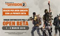 La Open Beta di Tom Clancy's The Division 2 inizierà l'1 marzo 2019