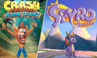 Spunta il codice della demo di Spyro all'interno della N.Sane Trilogy di Crash
