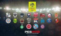 PES 2019 includerà la licenza completa della Ligue 1