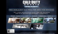 Call of Duty: Ghosts - Onslaught in prova gratuita nel weekend su Xbox Live