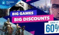 Sony dà il via ai saldi con la promo ''Grandi Giochi, Grandi Sconti''