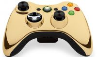 Un nuovo controller wireless per Xbox 360 color oro