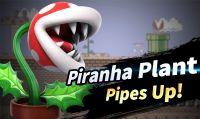 Super Smash Bros. Ultimate - A febbraio arriverà la Pianta Piranha