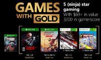 Svelati i giochi Games With Gold di febbraio