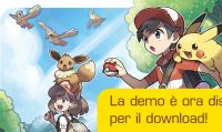 Disponibile la demo di Pokémon: Let's Go, Pikachu! e Pokémon: Let's Go, Eevee!