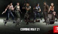 Resident Evil, Resident Evil 4 e Resident Evil 0 su Nintendo Switch a maggio