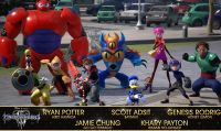 Kingdom Hearts III - Ecco il cast di doppiatori di Big Hero 6