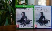Le versioni fisiche di A Plague Tale: Innocence per PlayStation 5 e Xbox Series X sono da oggi disponibili