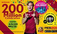 PES 2019 Mobile raggiunge i 200 milioni di download