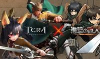 Attack on Titan pronto ad invadere la ''TERA'' ma solo su PC