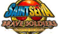 Saint Seiya Brave Soldiers - annuncio con trailer e immagini